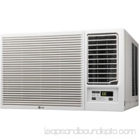 230 V Window Mounted 23,000 BTU Air Conditioner with Supplemental Heat Function - White