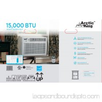 Arctic King WWK-15CRN1-BJ7 15,000-BTU Room Window Air Conditioner w/Remote Control 552380369