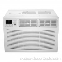 Cool-Living 6,000-BTU Window Air Conditioner with Digital Display and Remote, White 554419538