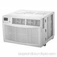 Cool-Living 8,000 BTU Window Air Conditioner with Digital Display and Remote, White   554419550