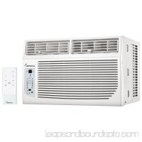 Impecca IWA08KS30 8000 BTU 120 Volt 12 EER Window Air Conditioner with 3 Fan Speeds and Remote Control