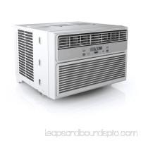 Midea EasyCool 6,000 BTU Window Air Conditioner with FollowMe Remote Control in White/Silver 566980053