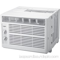 Whirlpool WHAW050BW 5,000 BTU 115V Window-Mounted Air Conditioner with Mechanical Controls   564694826