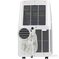 "Keystone 115V Portable Air Conditioner with ""Follow Me"" Remote Control for Rooms up to 200-Sq. Ft.   570287472"