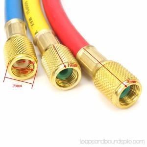 3 Way R134A R12 R22 R502 R404z Manifold Gauge Set HVAC AC