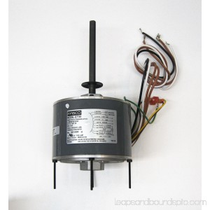 Air Conditioner Condenser Fan Motor Shaft Up 1/3 HP 230 Volts 1075 RPM Ball Bearing Single Speed for Fasco D7748