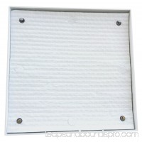 ELIMA-DRAFT® INSULATED MAGNETIC VENT COVER FOR HVAC STEEL VENTS 9 1/4? X 9 1/4? TO 10 3/4? X 10 3/4? 555493421