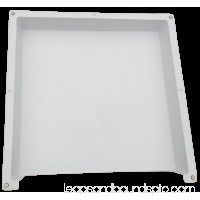 ELIMA-DRAFT® MAGNETIC AIR DEFLECTOR VENT COVER FOR HVAC COMMERCIAL VENTS 24 X 24 555623344