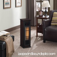 ChimneyFree Infrared Quartz Heater, Dark Espresso   564078527