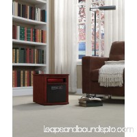 Duraflame Portable Electric Infrared Quartz Heater, Cherry   554259452