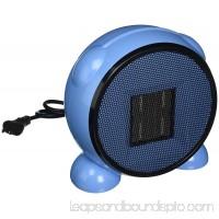 LEDmart Portable Space/Desktop Heater, Blue