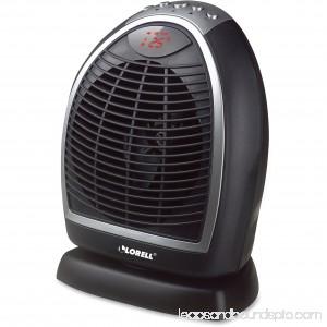 Lorell LED Digital Heater, Black 564012834