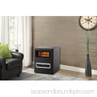 Mainstays, 4 Element, Infrared Electric Cabinet Space Heater, Black   563470372