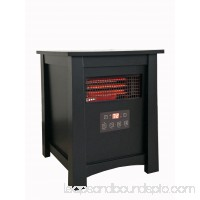 Mainstays, 6-Element, Wood Box Electric Infrared Space Heater, ND-78 564874180