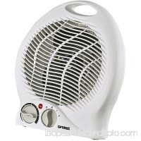 Optimus Portable Heater Fan, White HEOP1322 551663189