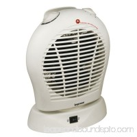 Oscillating Fan Heater with Thermostat White   555623489
