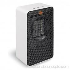 Portable Compact Ceramic Heater, White