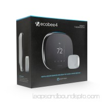 ecobee4 Smart Thermostat + Room Sensors, No Hub Required   564285295