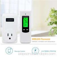 Floureon Wireless RF Plug In Thermostat Heating Cooling Temperature Controller TS-808 US