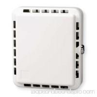 Unvrsl Thermostat Guard,Off-White,Plstc 4E647