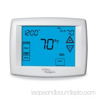 White Rodgers 1F95-1277 | 90 Series Blue Touchscreen Programmable Thermostat