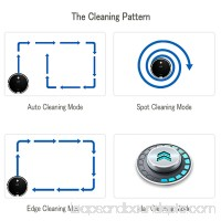 ILIFE A6 Robotic Vacuum Cleaner 1000pa Strong suction with Electrowall Auto Microfiber Dust Sweeping Machine for Thin Carpet and Hardwood Floor