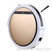 ILIFE Robotic Vacuum Cleaner with Gyrocsope Navigation Sensor, High Suction, Self-Charging Robot Vacuum Cleaner Drop-Sensing Technology for Pet Hair and Allergens Support Wet Mop with Water Tank