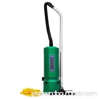BISSELL COMMERCIAL Backpack Vacuum,Air Flow 120cfm,1-7/8 HP BG1001