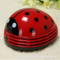 Cute Cartoon Ladybug Shape Desktop Vacuum Cleaner Keyboard Dust Collector