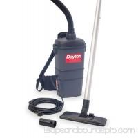 "DAYTON Backpack Vacuum,Heavy-Duty, Single-Stg Mtr, CFM 9, SP 65""   1UG82"