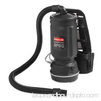 Executive Series Backpack Vacuum, 6 Qt, Black, 50ft Cord RCP1868433
