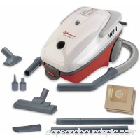 Koblenz All Purpose Canister Vacuum Cleaner, Red/White 554420893
