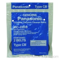 Panasonic Type CB, MC883, 8220, 9440 Canister Vacuum Cleaner Flat Belts 2Pk # MC-220B