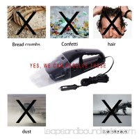 Portable 120W 12V Mini Car Wet Dry Handheld Auto Lightweight Cleaner Dustbuster Vacuum Cleaner