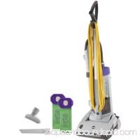 PROTEAM Upright Vacuum,HEPA,120V,17 lb.,3.25 qt. 107329