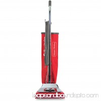 Sanitaire Quick Kleen Upright Vacuum, Red, Silver   554718689