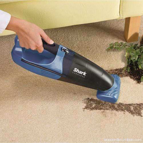 Shark Cordless Pet Perfect Handheld Vacuum Blue And