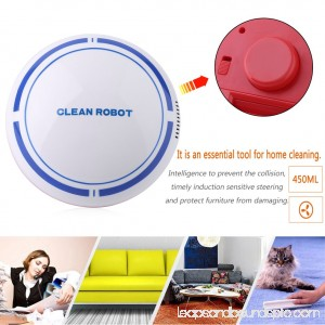 Automatic Cleaning Sweeper Robotic Robots Or Vacuum And Mopping Robots Mute Vacuum Sweeping Machine For Kids(White) 569881035