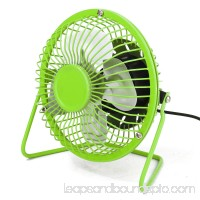 4inch USB Mini Desk Fan Personal Mini Cooling Fan - Quiet and Portable for Desktop Tabletop Floor Office Room Travel, 360 Degree Rotating