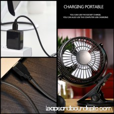 5 inch Portable with Clip USB Desktop Fan for Home Office Baby Stroller 570330405