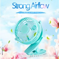 5 inch Portable with Clip USB Desktop Fan for Home Office Baby Stroller   570528978