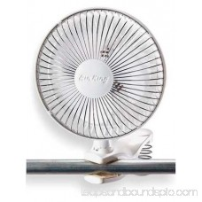 AIR KING Clip On Fan,Non-Osc,6 In Dia,2-spd,120V 9145