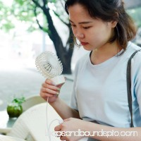 Ashata USB Mini Desk Desktop Personal Cooling Fan Quiet Operation for Home Office Dorm , USB Desk Cooling Fan, Mini Fan