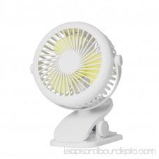Bangcool Personal Clip on Fan Rechargeable Portable 360° Rotation Desk Mini Fan