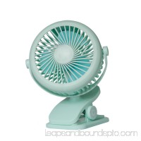 Bangcool Personal Clip on Fan Rechargeable Portable 360° Rotation Desk Mini Fan