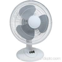 """Cool Works TP7-12A 12"""" 3-Speed Desk Fan   557501350"""