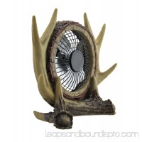 De Leon Collections Antler USB Table Fan