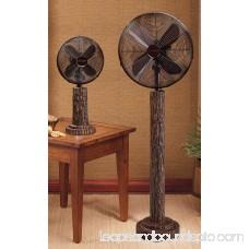 DecoBREEZE Oscillating Table Fan 3-Speed Air Circulator Fan, 10-Inch, Raleigh 566232872