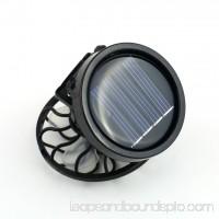 Fan New Energy Saving Clip-On Solar Cell Fan Sun Power Energy Panel Cooling Black