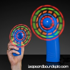 FlashingBlinkyLights Light Up LED Mini Handheld Fan